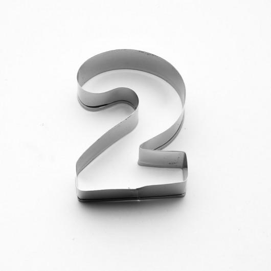 Číslo 2 | Vykrajovátko