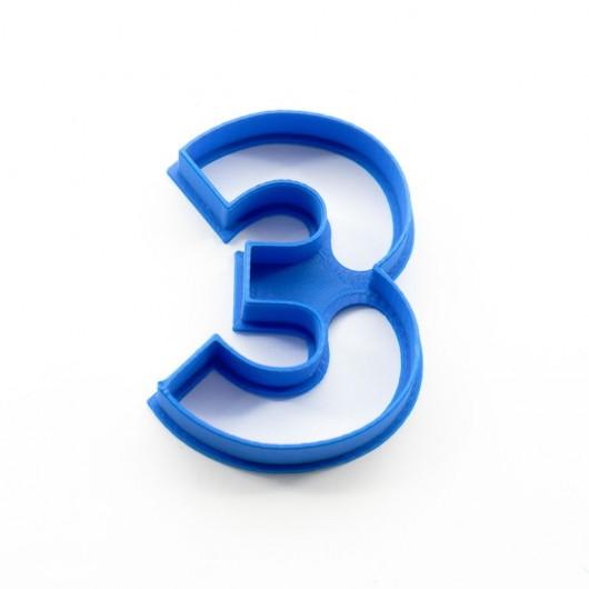 Číslice 3 | Vykrajovátko