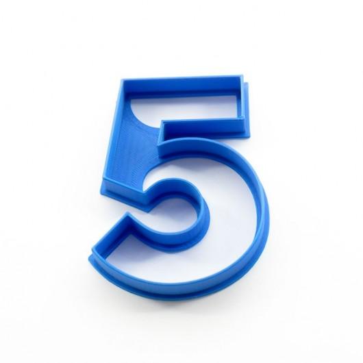 Číslice 5   Vykrajovátko