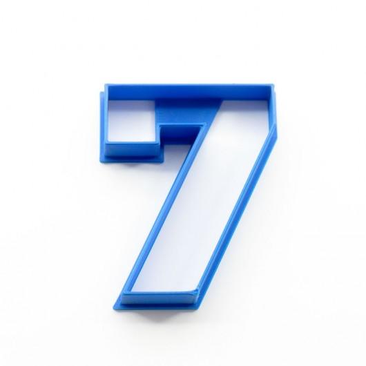 Číslice 7   Vykrajovátko