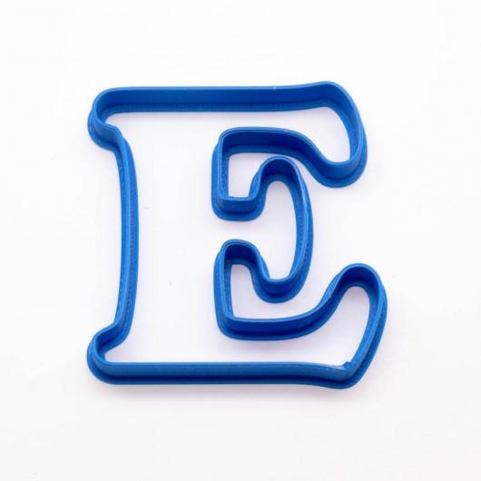 Písmeno E | Vykrajovátko