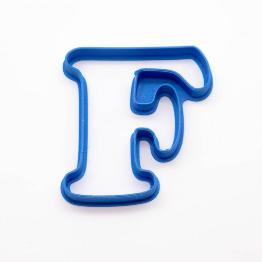 Písmeno F   Vykrajovátko