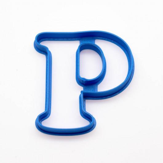 Písmeno P | Vykrajovátko